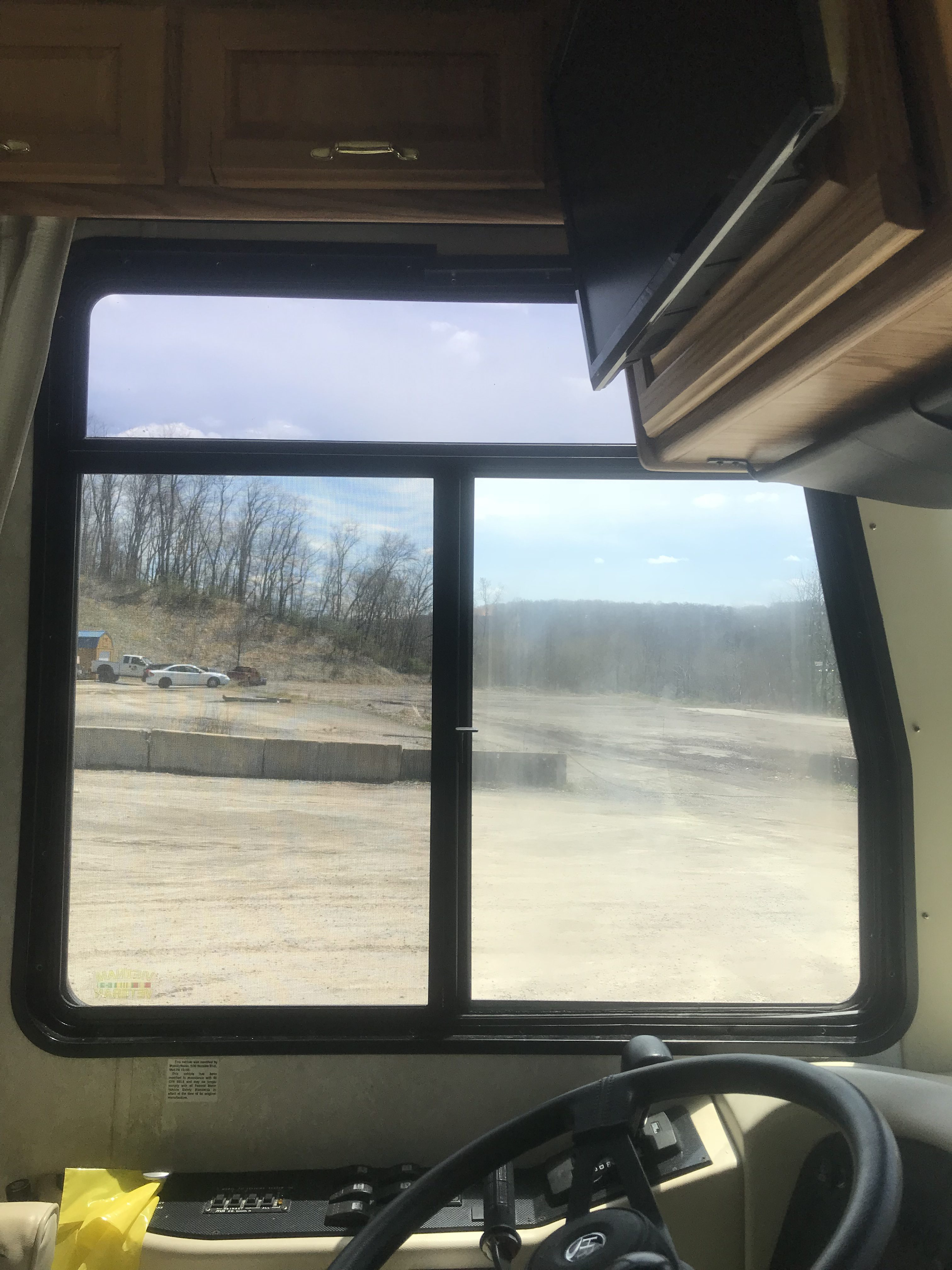 Fogged Rv Sliding Side Window Replacement Xtreme